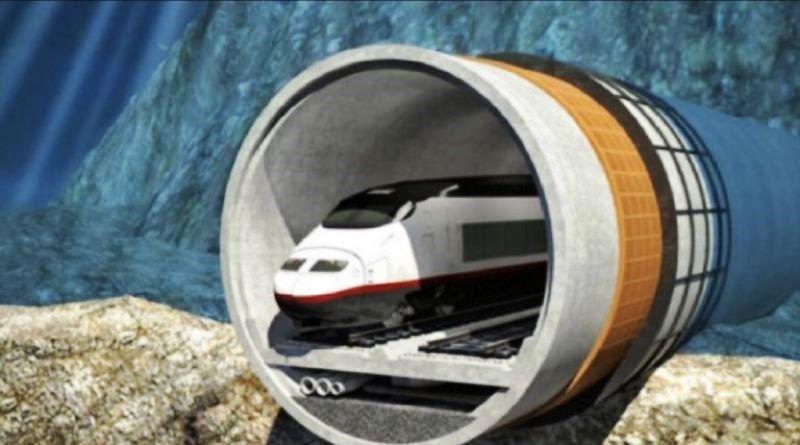 Китайская корпорация инвестирует 15 миллиардов евро в подводный тоннель