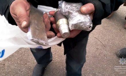 У зловмисника разом з викраденими речами правоохоронці вилучили боєприпаси і наркотики
