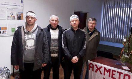 Учасників голодного страйку виганяють на вулицю. День сьомий