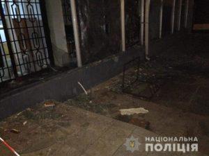 Поліціє повідомляє про вибух в віддідені Ощадбанку