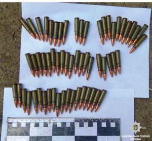 Поліцейські вилучили вибухонебезпечні «сувеніри»