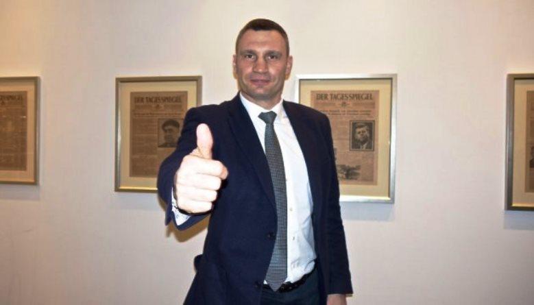 Кличко рассказал немцам о своих политических амбициях