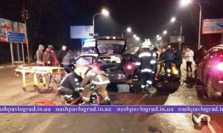 В страшном ДТП на Днепровской пострадали 5 человек, 1 погиб