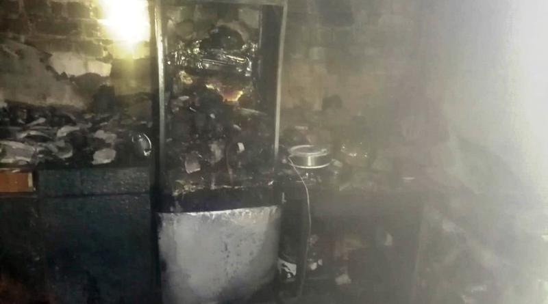 В пятницу вечером горело общежитие