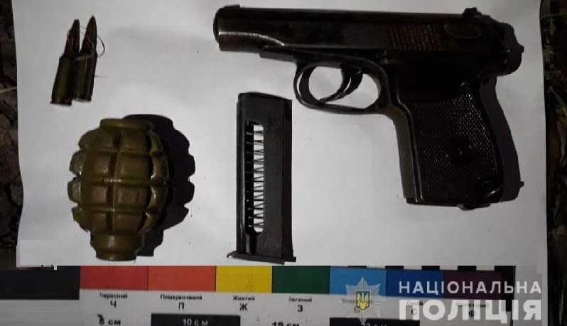 У 19-летнего жителя Першотравенска полицейские изъяли оружие и боеприпасы