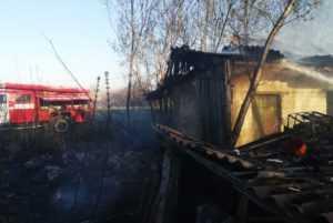 Пожарные ликвидировали пожар в селе Вербки