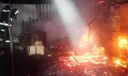 В Павлограде во время ликвидации пожара спасен человек с инвалидностью