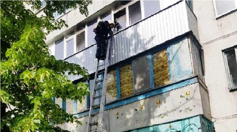 В Павлограді ліквідовано пожежу в квартирі