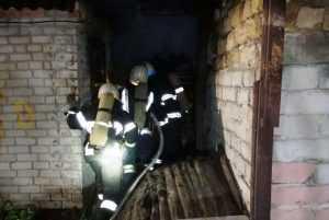 В Павлограді на пожежі загинув чоловік