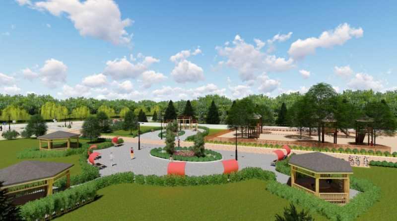 У Томаківці почали реконструкцію парку за проектом «Територія комфорту»