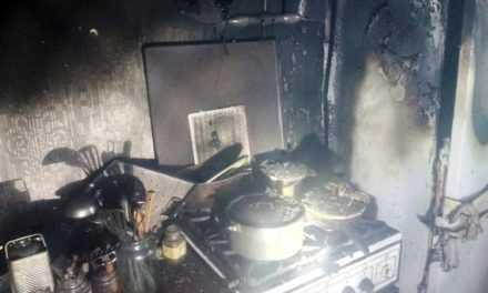В Павлоград під час пожежі виявлено тіло чоловіка 1972 року народження