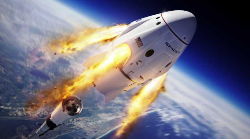 Впервые частная компания отправила астронавтов в космос