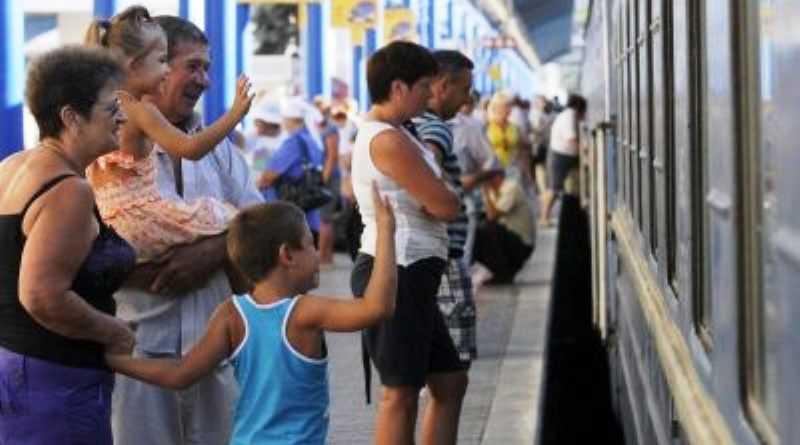 Открыт железнодорожный маршрут из Павлограда в Одессу