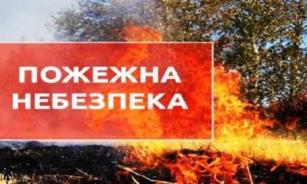 Увага! Пожежна небезпека!