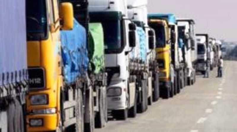Фурам весом более 24 тонн запрещено в жару двигаться по дорогам Днепропетровщины