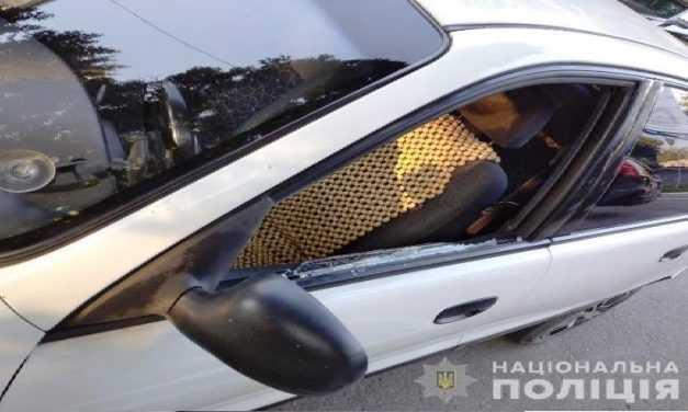 За повреждение автомобиля в Павлограде полиция задержала 32-летнего нарушителя