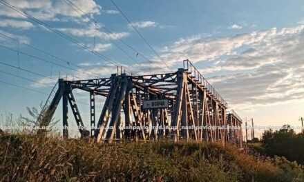 В Павлограде с железнодорожного моста упал подросток