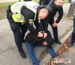 Полиция Кривого Рога задержала подозреваемого в убийстве двоих людей и ранении еще восьмерых