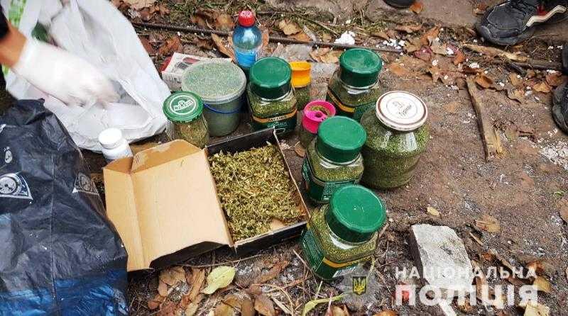 Во время обыска павлоградская полиция изъяла партию марихуаны