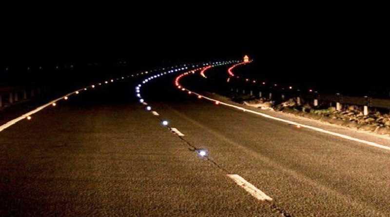 На автодороге Петропавловка – Солнцево – Богдановка установят светоотражающие вставки