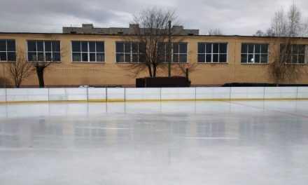 В Павлограде стартовал новый сезон на ледовом катке
