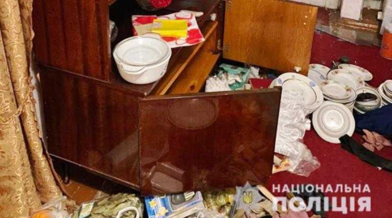 В Терновке полицейские на месте преступления задержали квартирного вора