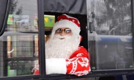 В новогоднюю ночь в Павлограде будут курсировать дополнительные рейсовые автобусы