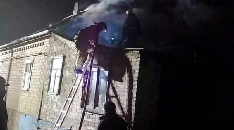 В Павлограде ликвидирован пожар в частном жилом доме
