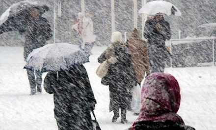 ВНИМАНИЕ! На 13 января объявлено штормовое предупреждение: ожидается мокрый снег, сильный ветер и гололёд