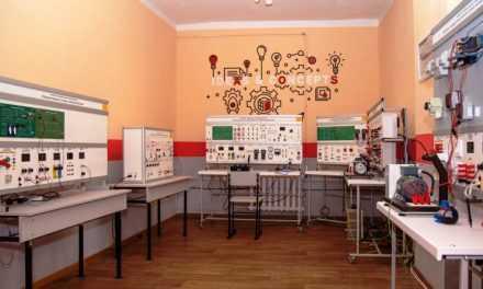 В Кривом Роге открыли учебно-практический центр электротехнических технологий