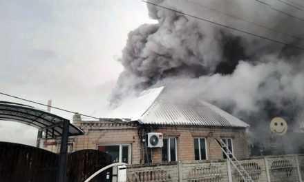 В Павлограде пожарные ликвидировали пожар в жилом секторе