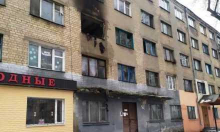 Павлоградские полицейские выясняют причину пожара в общежитии на Заводской