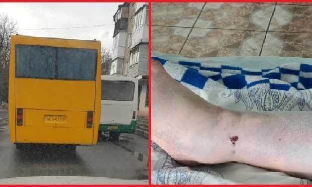 В Павлограде спасают ногу женщине, которая попала под колёса маршрутки     /Видео/