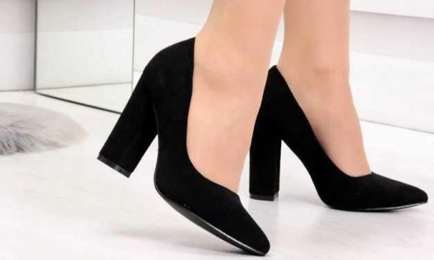 Особенности туфель на широком каблуке