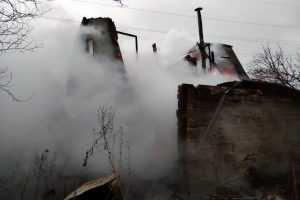 В Павлограде спасатели ликвидировали пожар на территории садового общества