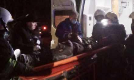 В Павлограде пожарные спасли пенсионера из горящей квартиры