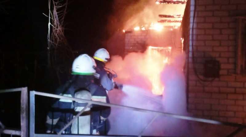 Павлоградские спасатели ликвидировали пожар в жилом доме