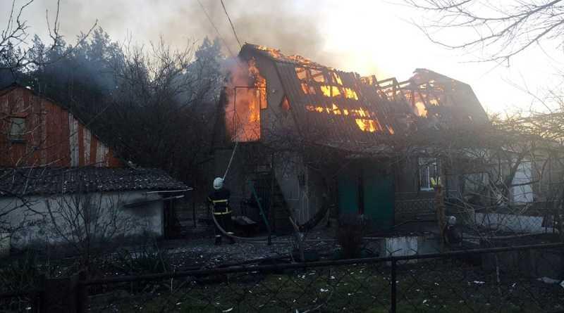 Спасатели ликвидировали пожар в Богдановке