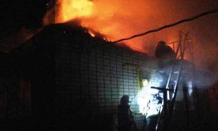 Павлоградские спасатели ликвидировали пожар в частном доме