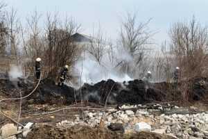 Павлоградские спасатели ликвидировали пожар в экосистеме