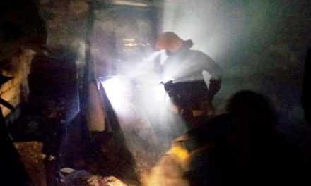 В Павлограде при ликвидации пожара в общежитии спасли четырех жителей