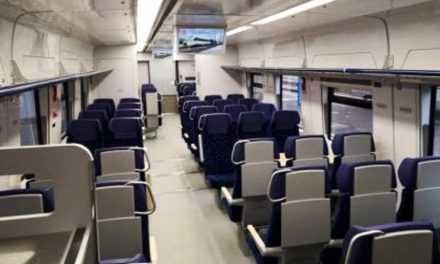 С 29 апреля через Павлоград будет ездить новый скоростной поезд