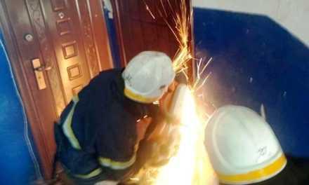 В Павлограде малолетний ребенок оказался закрытым в квартире