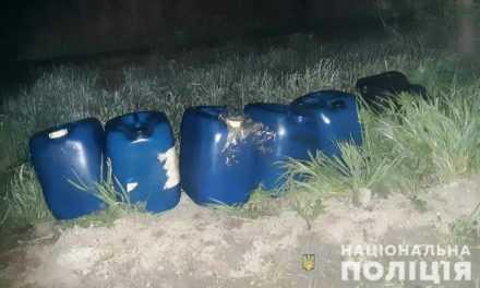За кражу топлива из фуры полицейские задержали 25-летнего жителя Павлограда