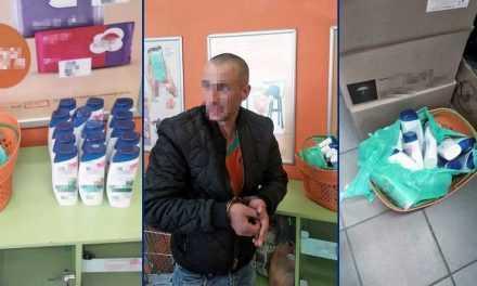 В Павлограде серия краж в магазинах: вор крал исключительно шампуни