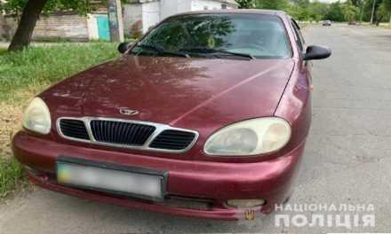 В Павлограде обнаружен автомобиль с поддельным свидетельством о регистрации транспортного средства