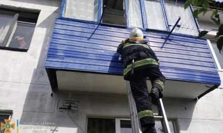В Павлограде спасатели обеспечили доступ в квартиру, в которой находилась больная пожилая женщина