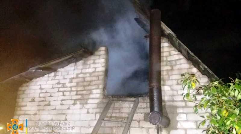 Ликвидирован пожар на территории частного домовладения