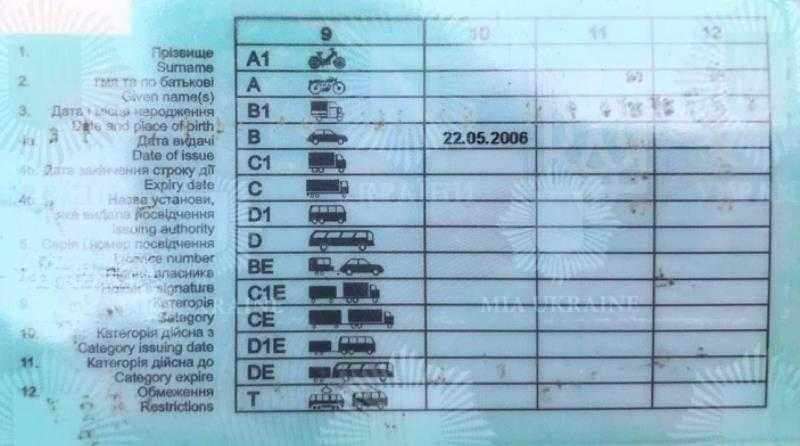 В Павлограде выявили 36-летнего мужчину за управление автомобилем с поддельным удостоверением